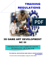 TR - 3D Game Art Development NC III