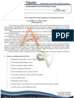 Examen Bimestral de RAZ. VERBAL IIB