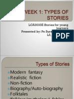 L3 LGA3033E Week 1 Types of stories.ppt
