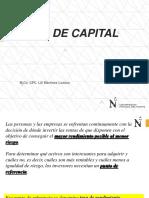 Costo de Capital-estructura de Capital