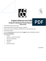 Guia Honos 65
