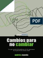 Andrés Zepeda - Cambios Para No Cambiar
