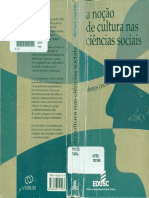 CUCHÉ, D. a Noção de Cultura Nas Ciências Sociais - Cópia