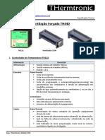 Data Sheet TH440 Ventilação Forçada_R1