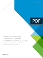 Vmware View Virtual Desktops Windows Optimization