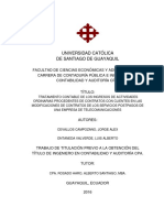 Tratamientos Contables PROCEDENTES de CONTRATOS Niif 15