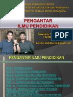 PIP_BAB 1 PENGANTAR ILMU PENDIDIKAN.pptx