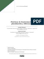 Practicas de Fronterizacion Pluralizacio
