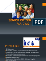 Senior Citizen Act