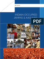 Human Rights Report 2016 Indian Occupied Kashmir