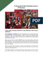 Yerin GFRIEND Menangis Ketika Membahas Konser Pertamanya