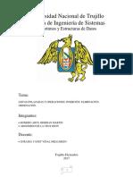 Listas Enlazadas y Operaciones