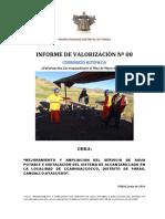 Informe valorización Residente Mayo