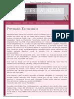 Prevenció- Taomasszázs _ Az Érintés Hatalma