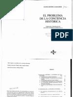 Gadamer El Problema de La Conciencia Historica