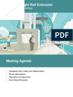 South Bay Green Line Extension Round 2 Project Briefing