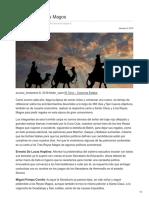8/Enero/2018  Carta a los Reyes Magos