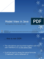 12 - Model View in Java