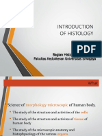 5 Introduction of Histology