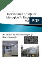 Dezvoltarea științelor biologice în Republica Moldova.pptx