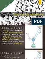 Lec 3 - Vector Operations