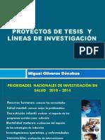 Proyectos y Líneas de Investigación
