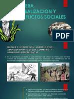 Tercera Globalizacion y Conflictos Sociales