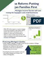 Michigan State Tax Reform Plan 2018