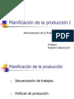 Planificacion de La Produccion I