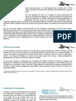 Climatología de Guaimaca 2018