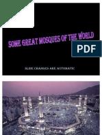 MASJIDS , mosques
