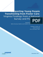 Supporting Young People Transitioning from Foster Care