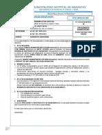 Informe ante proyecto aprobacion