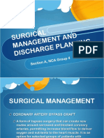 surgical management  and discharge planning