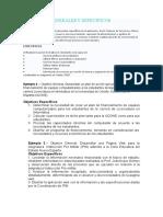 Ejemplos-objetivos Generales y Especificos