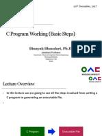 2- C Program Working