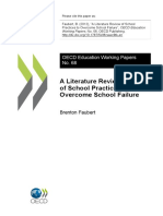 A Literature Review Os School FAUBERT