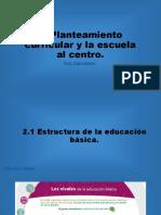 2/3. Planteamiento Curricular y La Escuela Al Centro del Nuevo Modelo Educativo 2017.