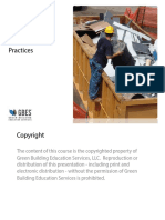 GBES Best Waste Management Practices