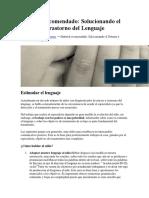 Articulos Sobre Adolescentes Lenguaje y Mucho Mas