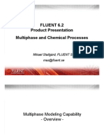 FLUENT 6.2 Product Presentation Multi Phase and Chemical Processes