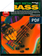 Stephan Richter - Progressive Heavy Metal Method for Bass Guitar