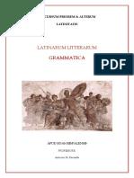 Latín Bto 17- 18 Gramatica