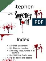 Stephen Sondheim Powerpoint
