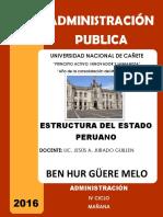 Estructura Del Estado - Monografía