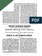 Excerptio de Arte Grammatica Prisciani