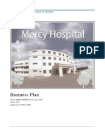 Mercy Hospital Business Plan