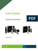 Nuvectra January 2018 Investor Presentation