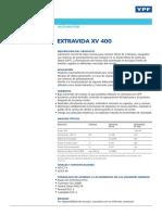 Ficha Tecnica Extravida XV 400