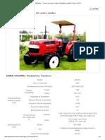 Especificaciones JINMA 554(4WD) Tractor de Cuatro Ruedas--HUANGHAI JINMA Tractor S.a.R